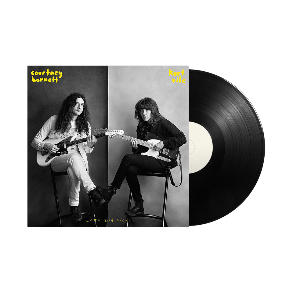 "Courtney Barnett & Kurt Vile / Lotta Sea Lice 12"" Vinyl"
