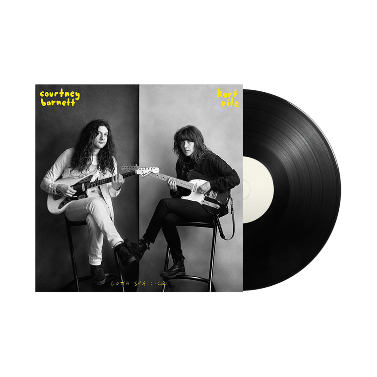 Courtney Barnett & Kurt Vile / Lotta Sea Lice 12