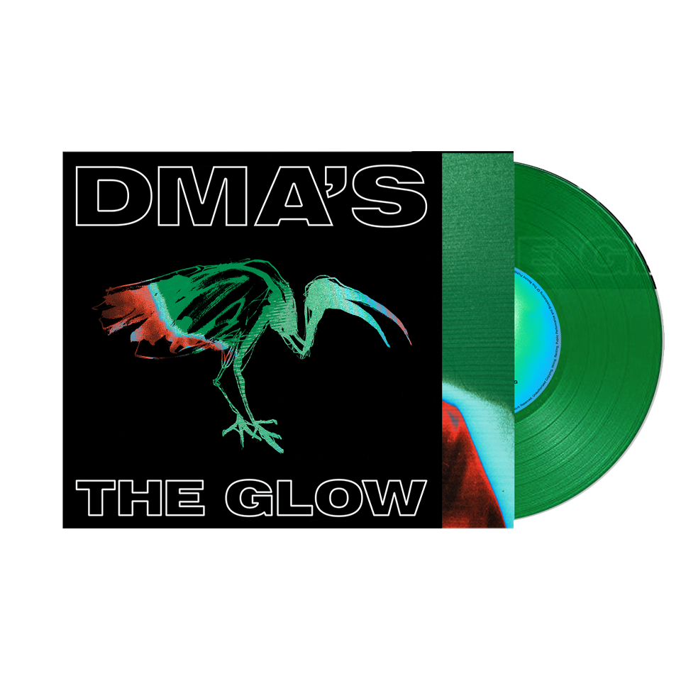 "DMA's / The Glow 12"" Translucent Green Vinyl + T-shirt Bundle"