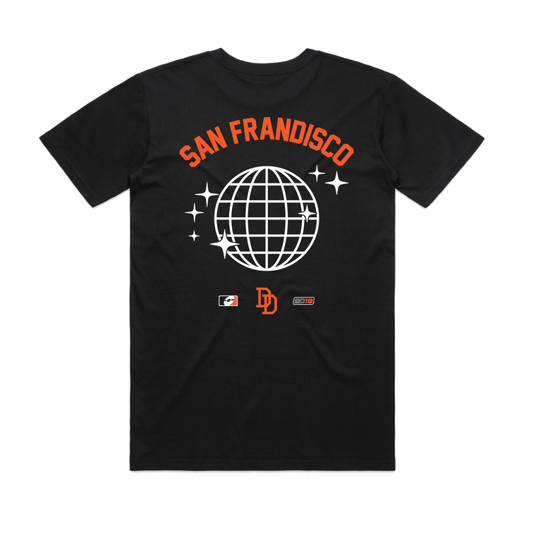 San Frandisco / Black T-shirt