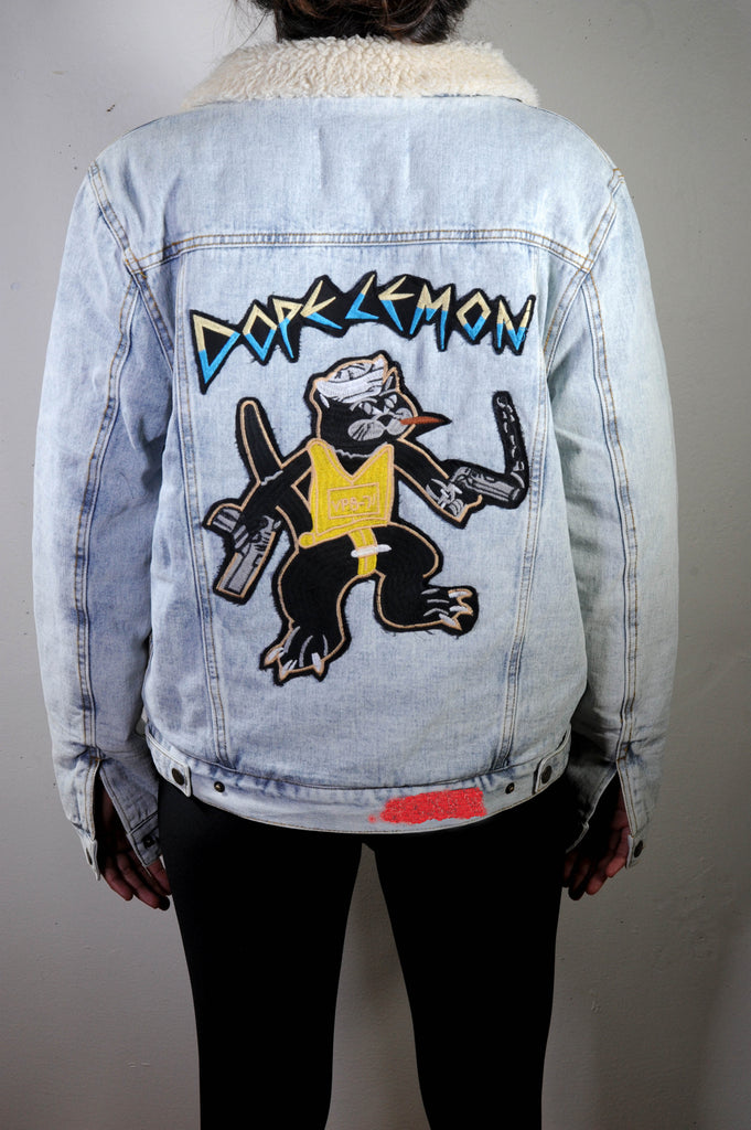 Gun Cat / Denim Jacket