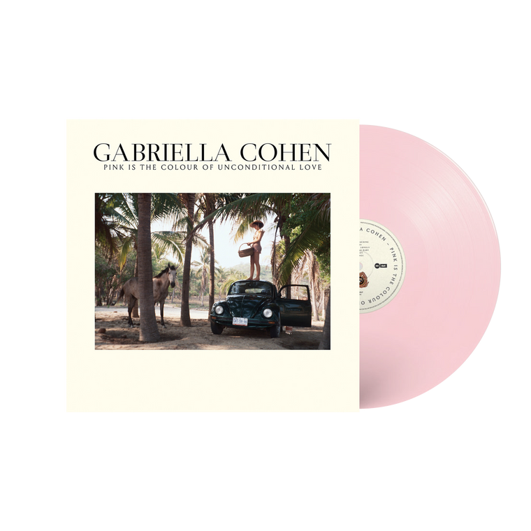 Gabriella Cohen / Pink Is The Colour Of Unconditional Love LP Vinyl (Light Pink Vinyl)