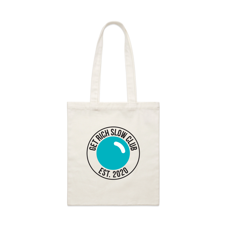 Get Rich Slow / Natural Tote Bag