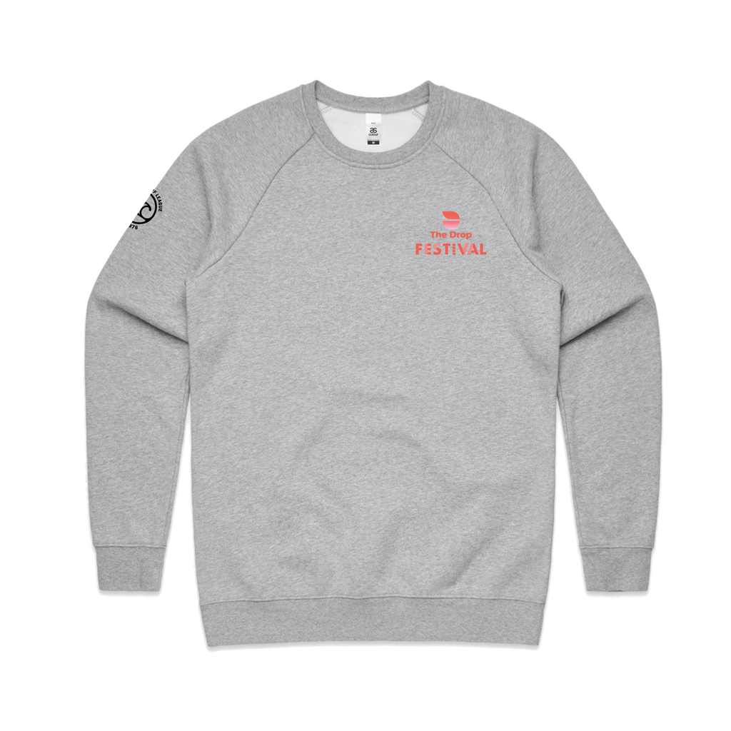 Grey Crew Jumper