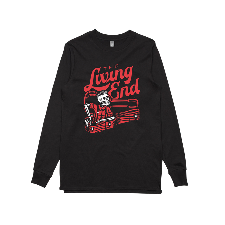 Guitar Case/ Black Longsleeve T-shirt