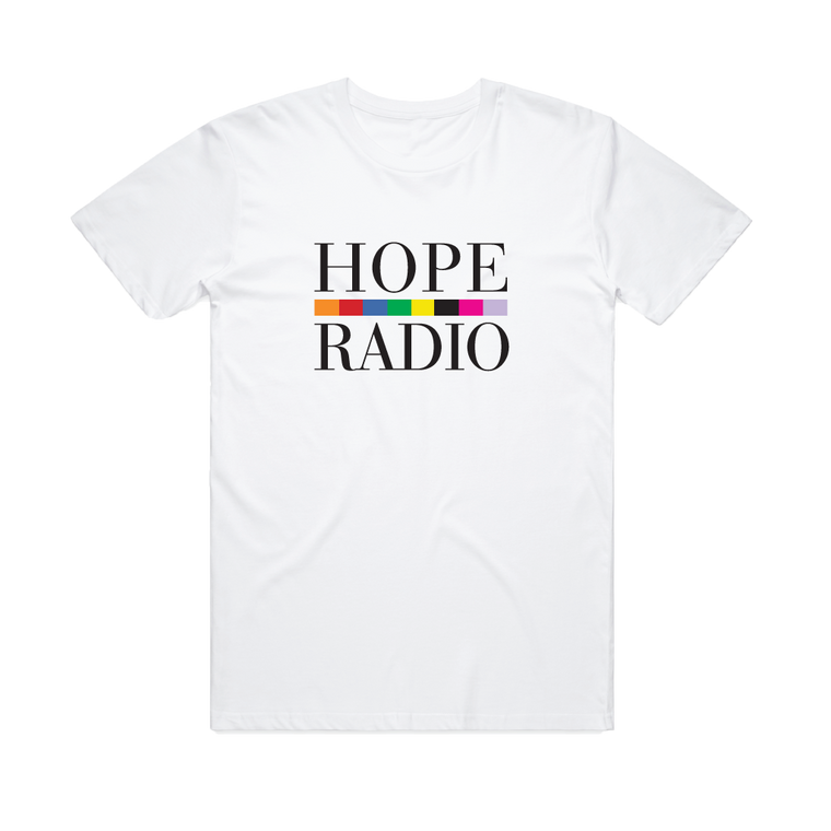 Hope St Radio Logo / White T-shirt