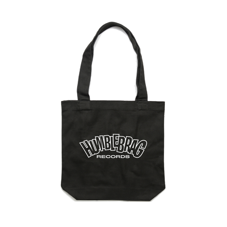 Logo / Black Tote Bag