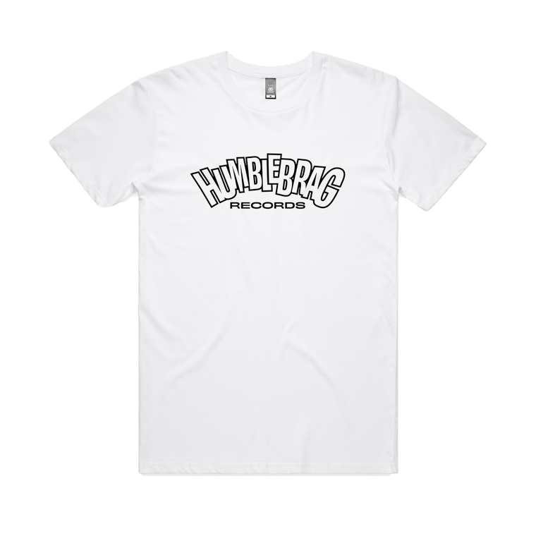 Humblebrag Records Logo / White T-shirt