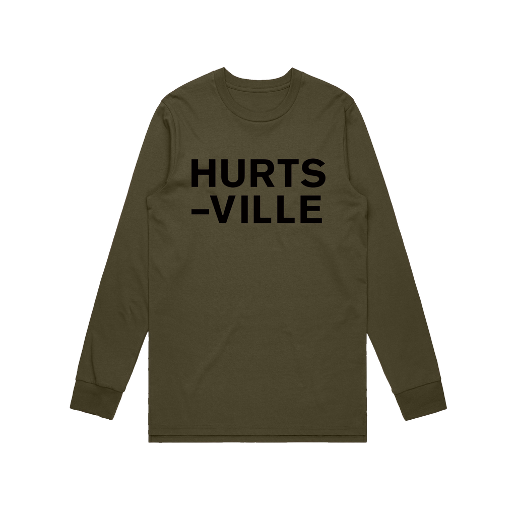 Hurts-Ville / Longsleeve t-shirt Army