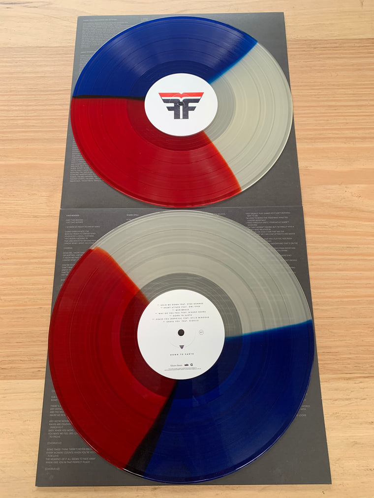 "Flight Facilities / Down To Earth 2 x 12"" Colour Vinyl / (FREE SHIPPING)"