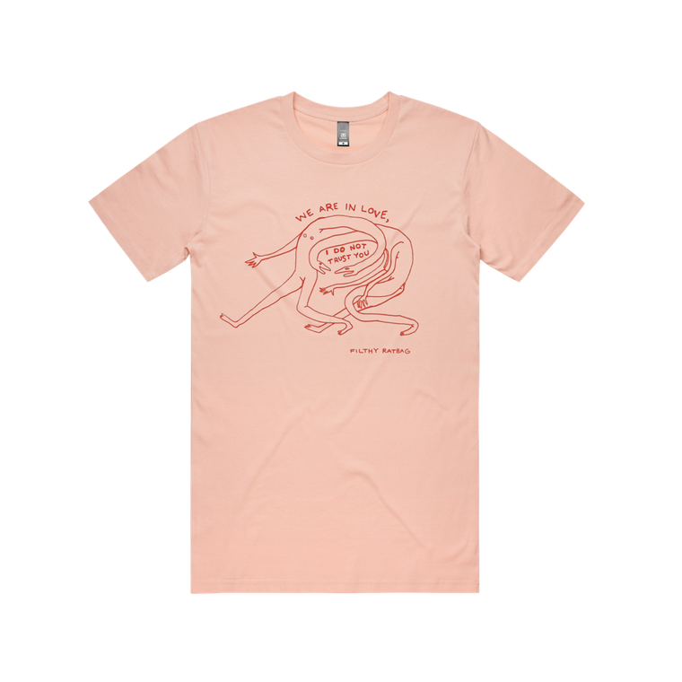 I Do Not Trust You / Pink T-shirt