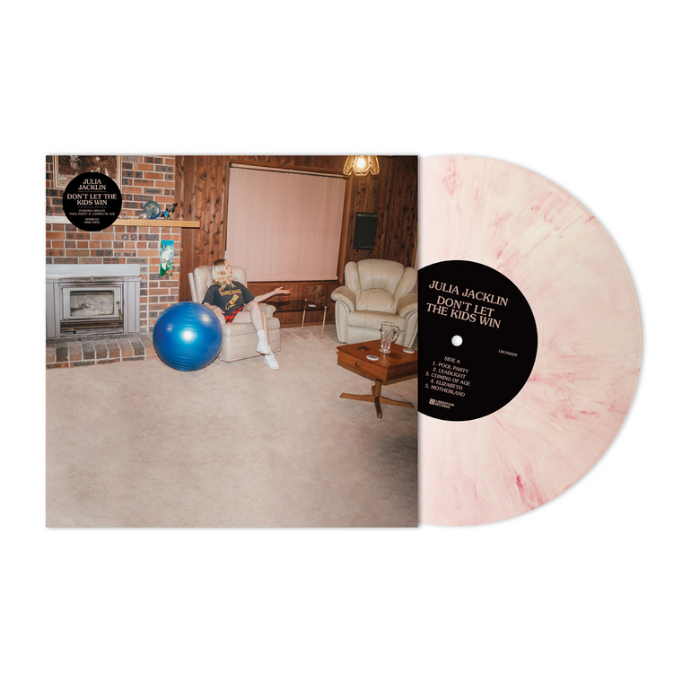 Julia Jacklin / 'Don't Let The Kids Win' Marble Pink 12