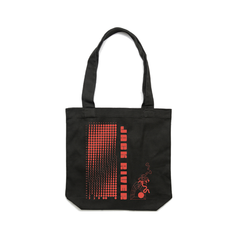 Stranger Heart Moon Phase / Organic Cotton Tote Bag