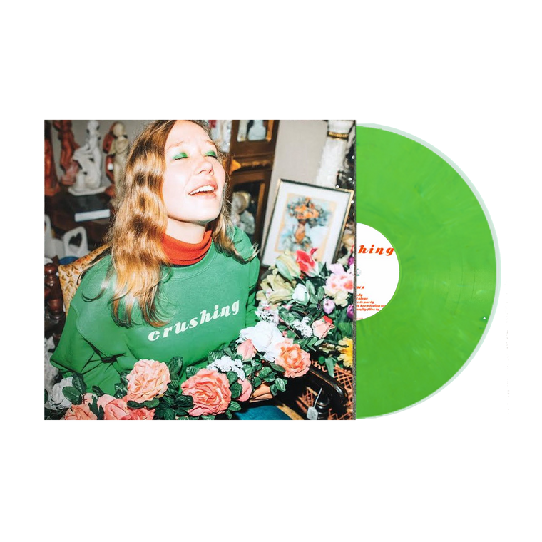 Crushing / Green Vinyl LP