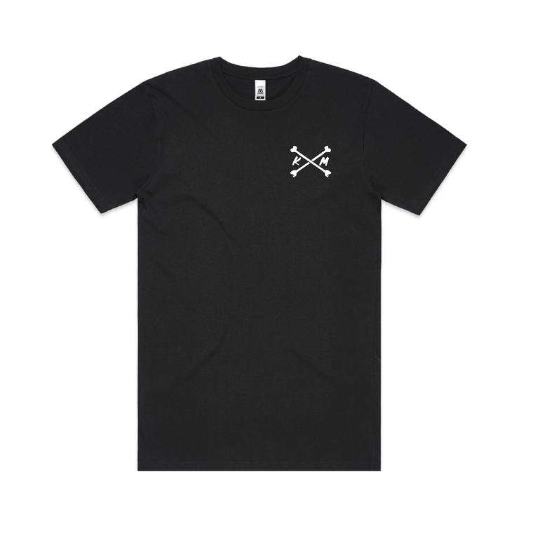 KM x Bones / Black T-shirt