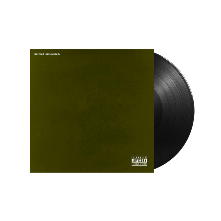 Kendrick Lamar / untitled unmastered LP vinyl