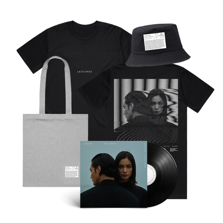 Lastlings / First Contact Tee & Vinyl & Bucket Hat & Tote Bundle