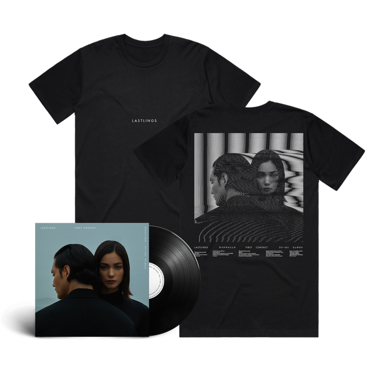 Lastlings / First Contact Tee & Vinyl Bundle ***PRE-ORDER***