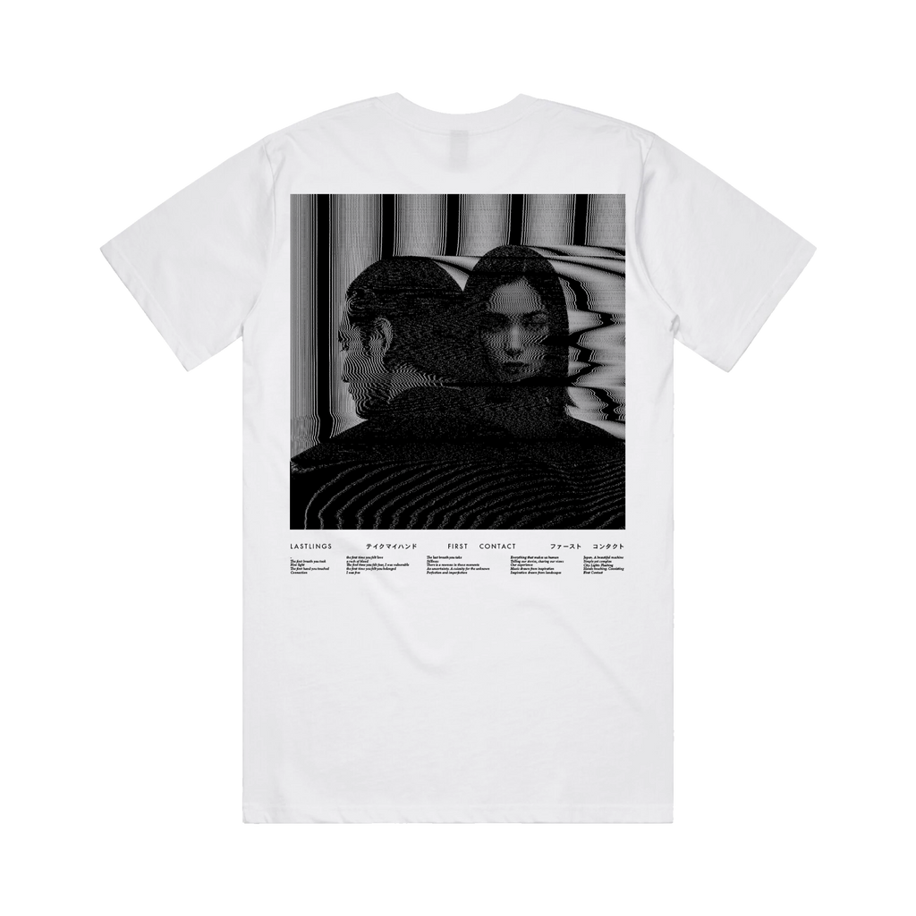 Lastlings / First Contact Des. 1 / White Tee