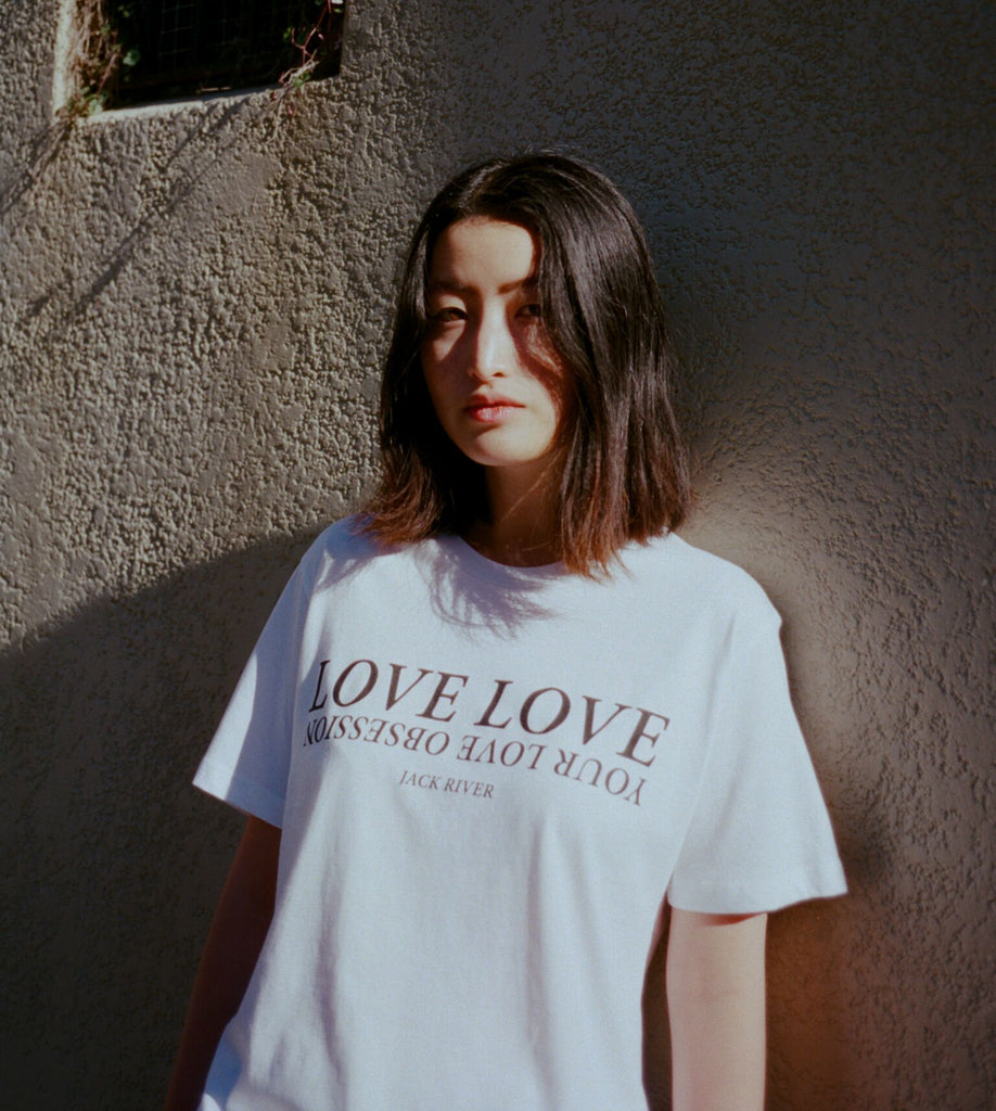 Love Love / White t-shirt