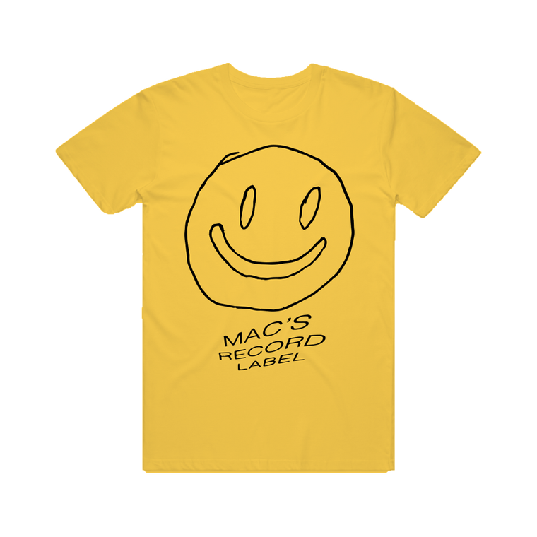 Mac Demarco Record Label / Yellow T-shirt