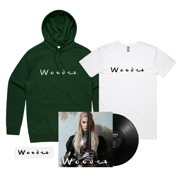 Crystal Ball /  Woodes Hood + T-shirt + Black Vinyl ***PRE-ORDER***