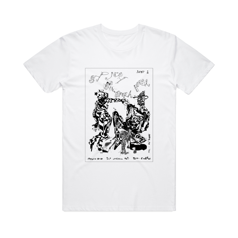 Sydney Opera House Gig Reprint / White T-Shirt