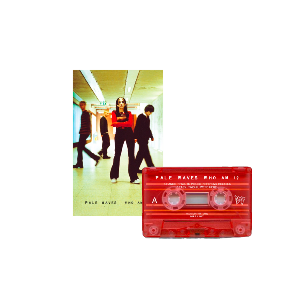 Pale Waves / Who Am I Cassette Tape (Limited Edition Red) ***PRE-ORDER***