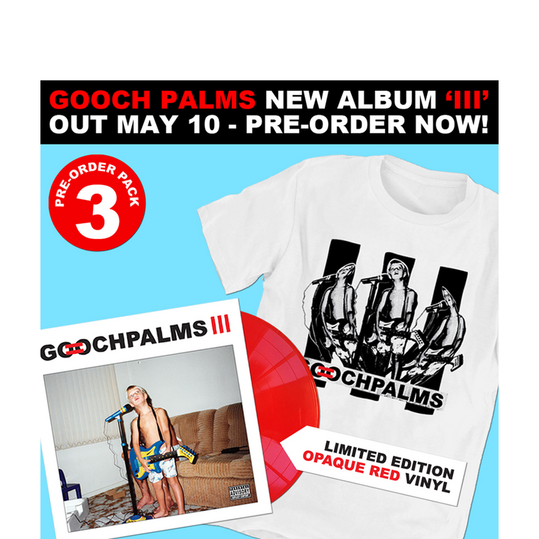 Pack 3 / Awesome Vinyl + Shirt Bundle
