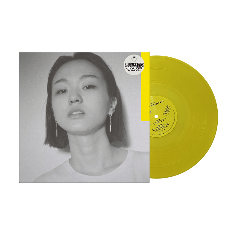 박혜진 Park Hye Jin / 'If You Want It' Limited Edition Yellow 12