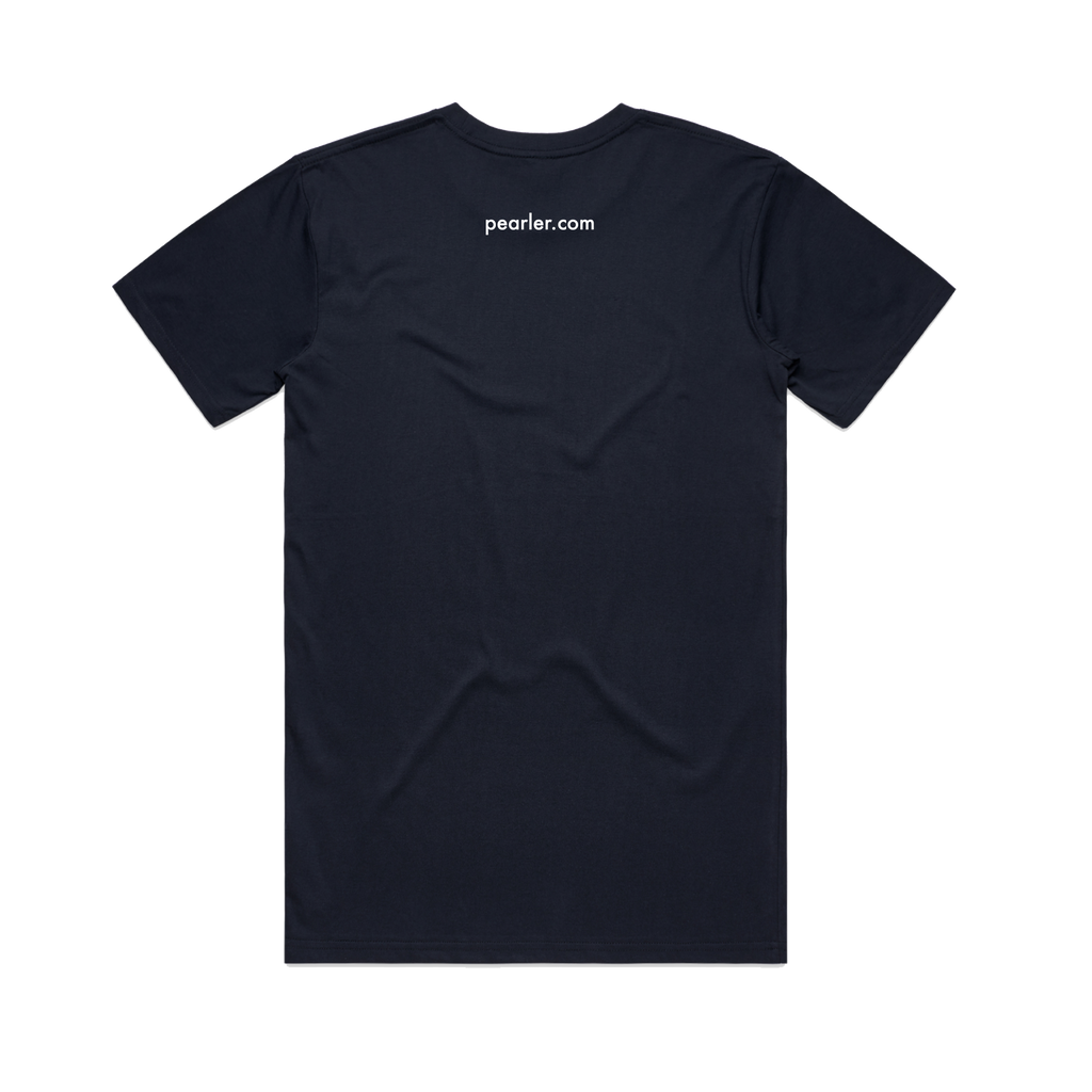 Logo / Navy T-Shirt