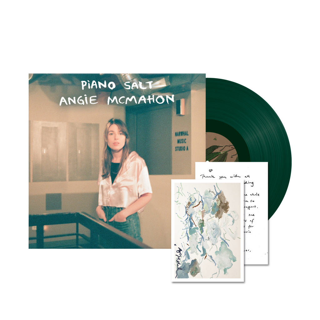 "Piano Salt EP / Green 12"" Vinyl + SIGNED Limited Edition Art Card"
