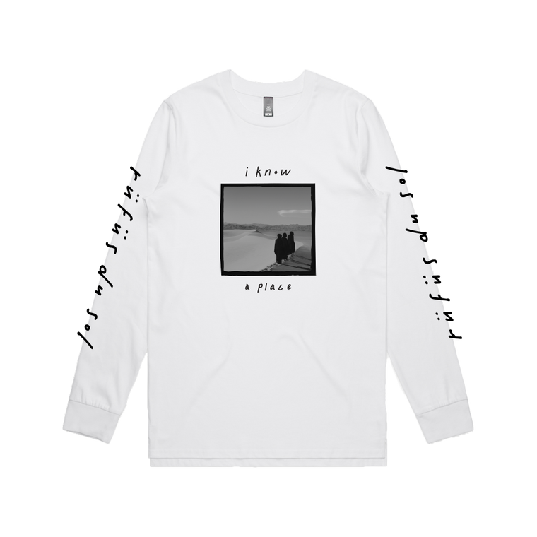 Winter / White Longsleeve