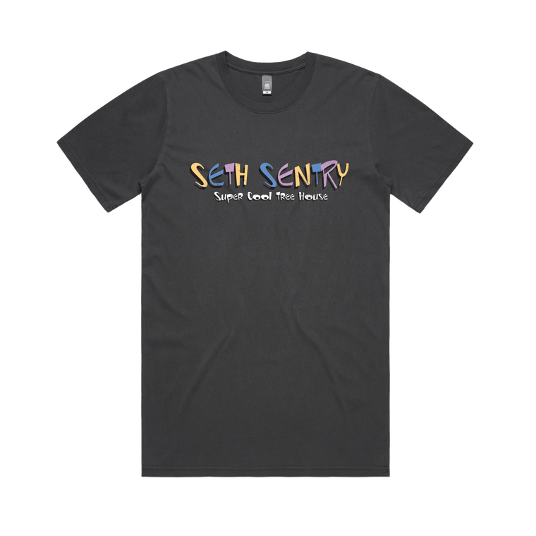 Ren and Sentry / Faded Black T-Shirt