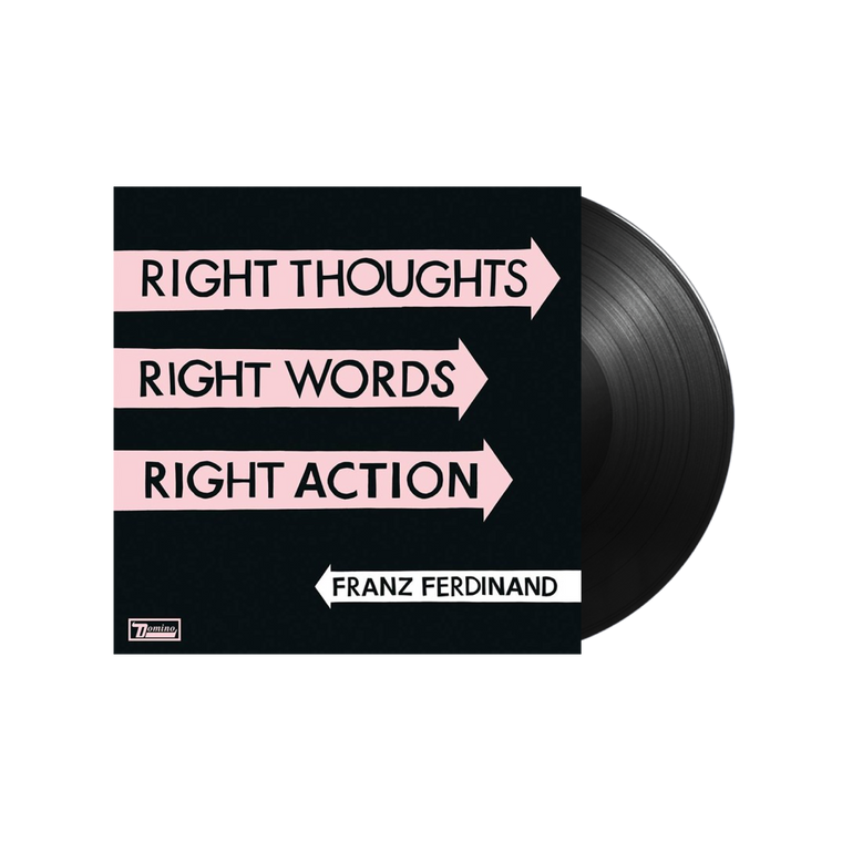 Franz Ferdinand /  Right Thoughts, Right Words, Right Action LP vinyl