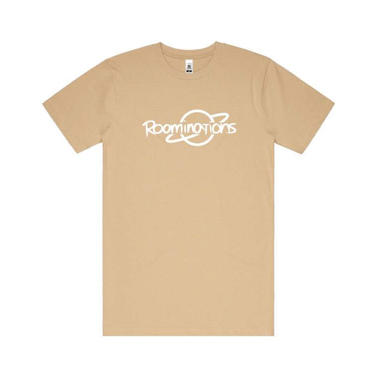 Roominations / Tan T-Shirt ***PRE-ORDER***
