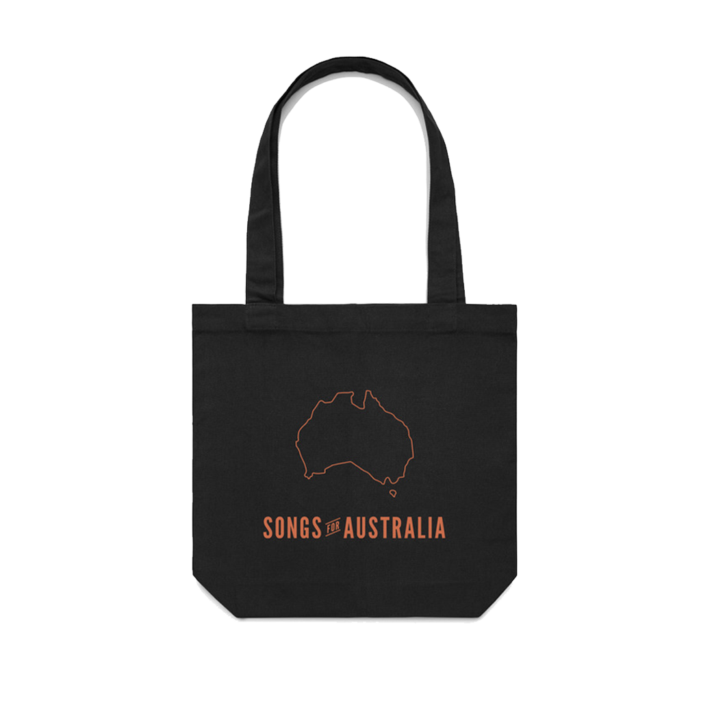 Songs for Australia / Black T-shirt + Vinyl + Tote Bundle