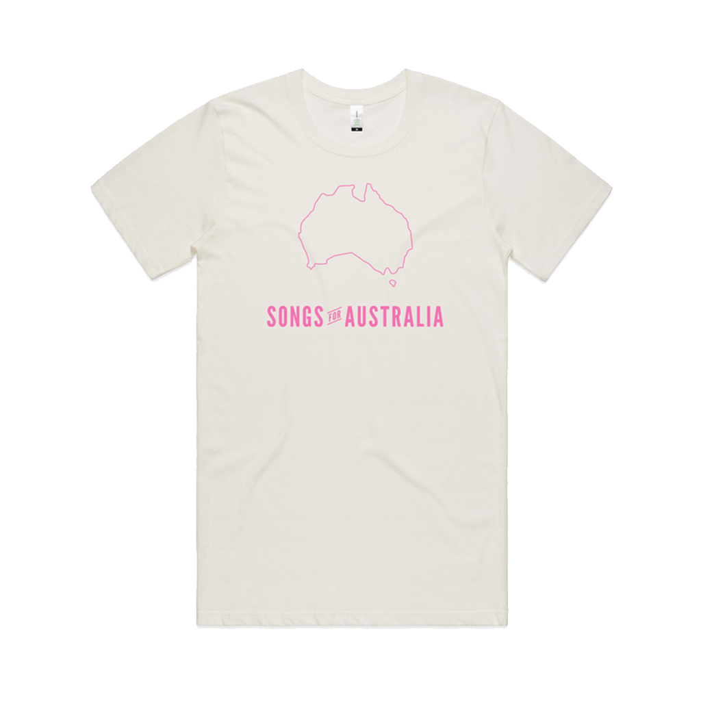 Songs for Australia / Natural T-shirt ***PRE-ORDER***