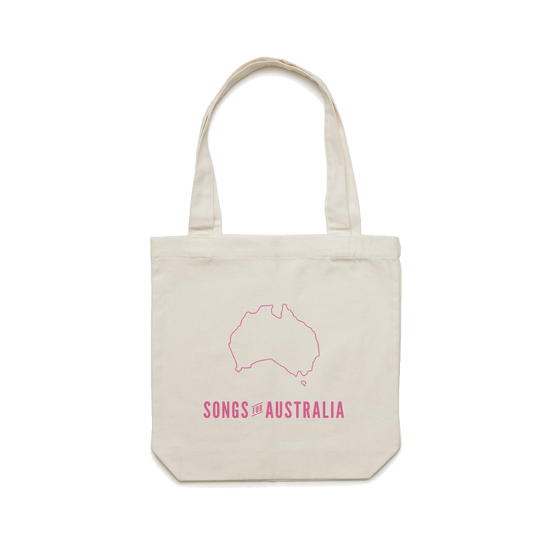 Songs for Australia / Cream Tote Bag    ***PRE-ORDER***