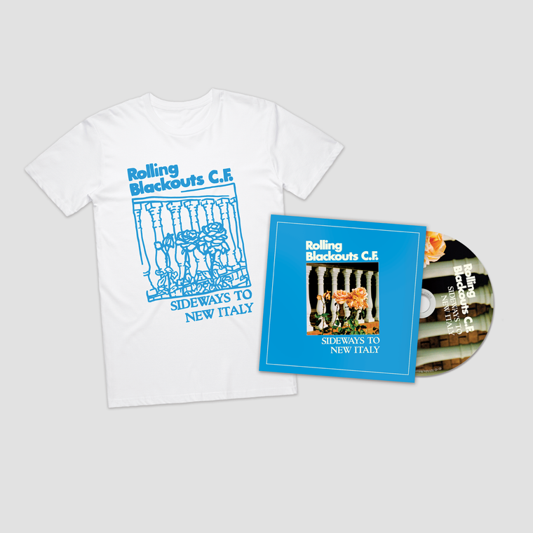 Sideways to New Italy / CD + Tee