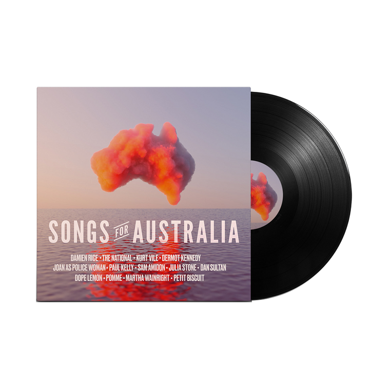 Songs for Australia / Black T-shirt + Vinyl with your name + Tote Bundle  ***PRE-ORDER***