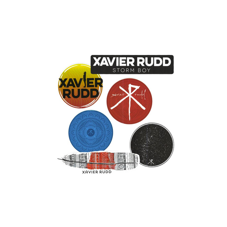 Xavier Rudd Sticker Pack