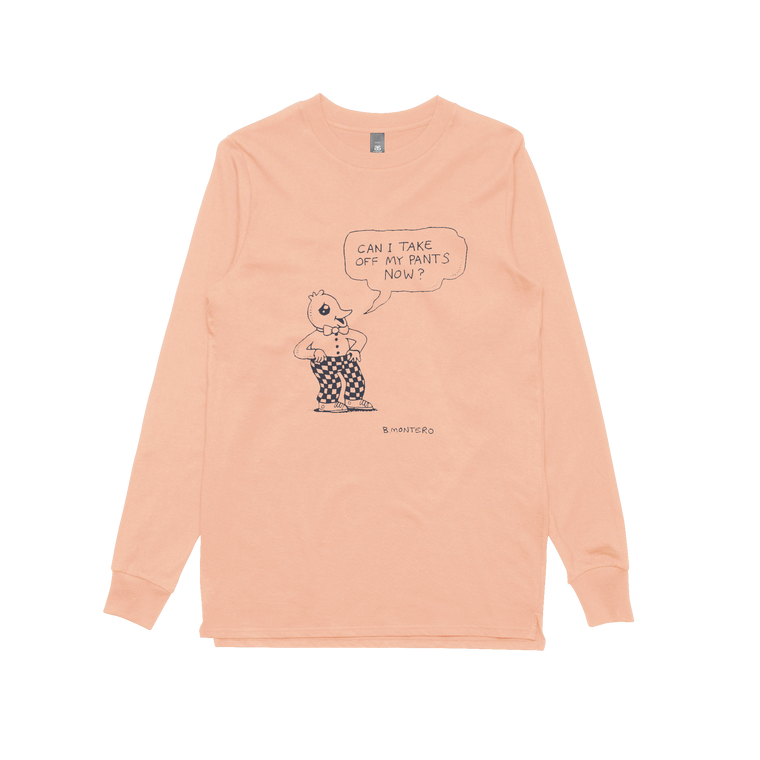 Pants Off / Pink Longsleeve
