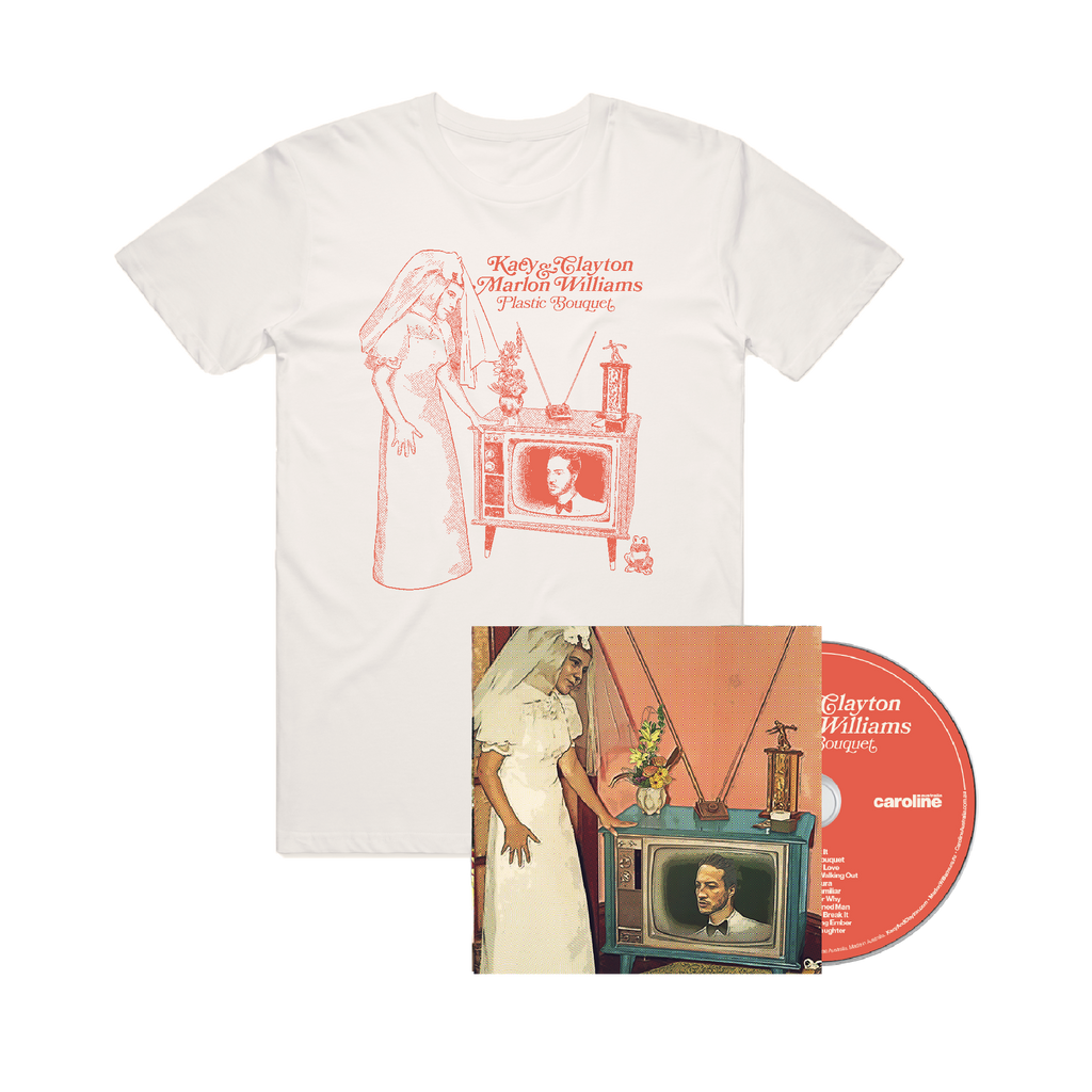 'Plastic Bouquet' CD + Tee Bundle ***PRE-ORDER***