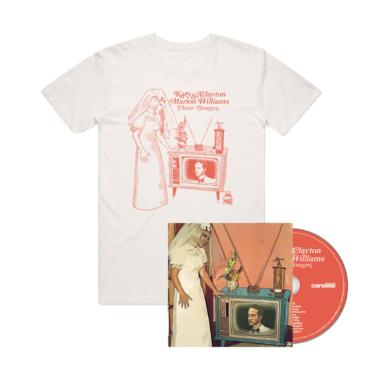 'Plastic Bouquet' CD + Tee Bundle