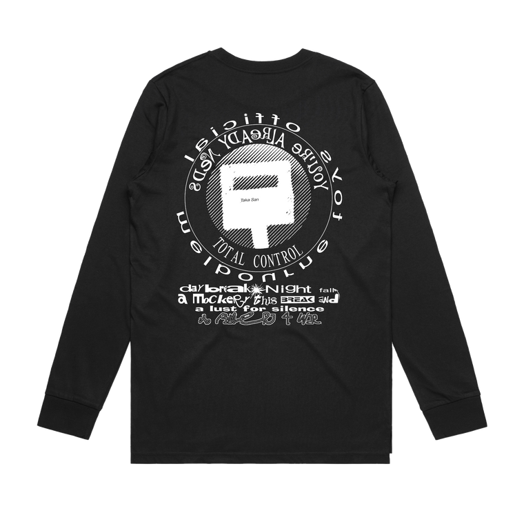 Total Control / Black Long Sleeve