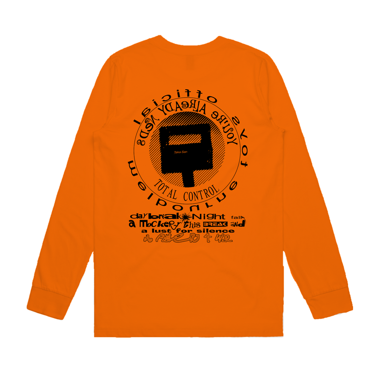 Total Control / Orange Long Sleeve