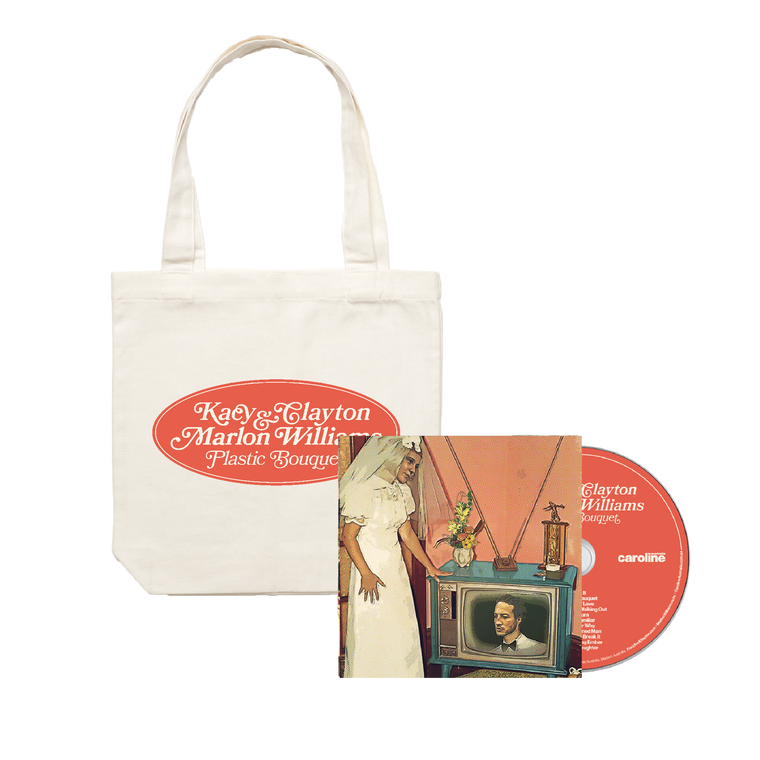 'Plastic Bouquet' CD + Tote Bundle