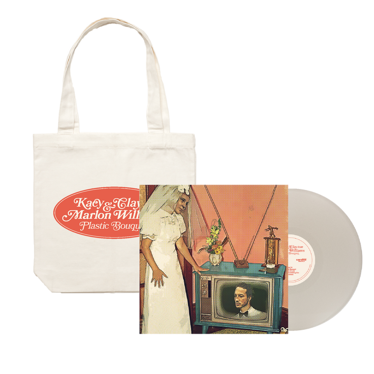 'Plastic Bouquet' LP Vinyl (Limited Edition White Vinyl) + Tote Bundle
