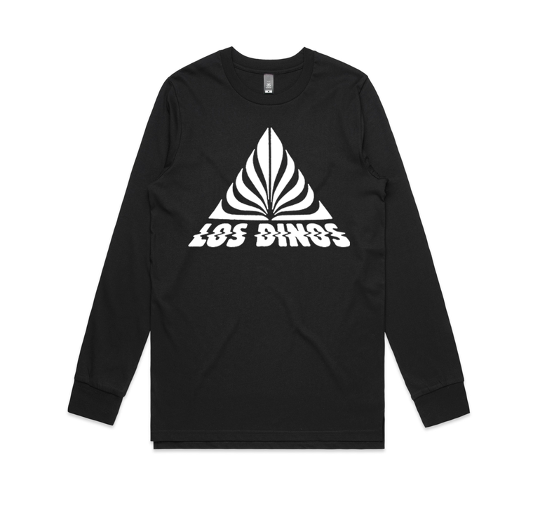Triangle / Black Longsleeve T-shirt